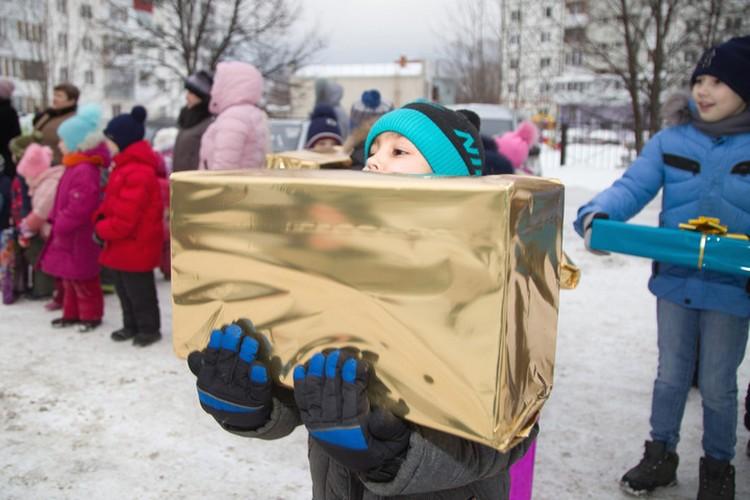 В сборе средств для новогодних подарков приняли участие около 12 тысяч сотрудников ПАО АНК «Башнефть»