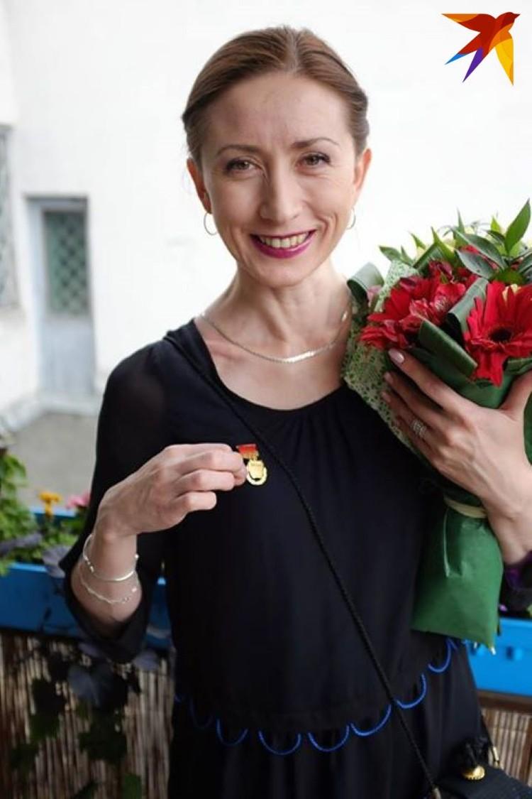В 2015 году Людмила Сидоркевич получила звание заслуженной артистки Беларуси.