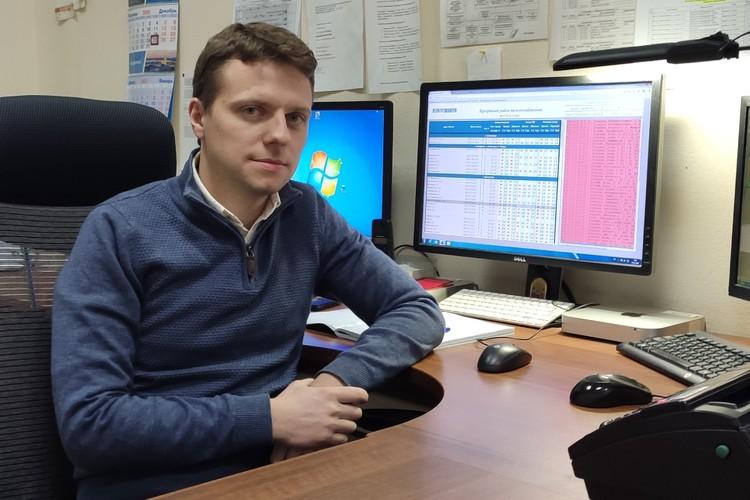 Вадим Смоляков. Фото: Архив «Газпром теплоэнерго».