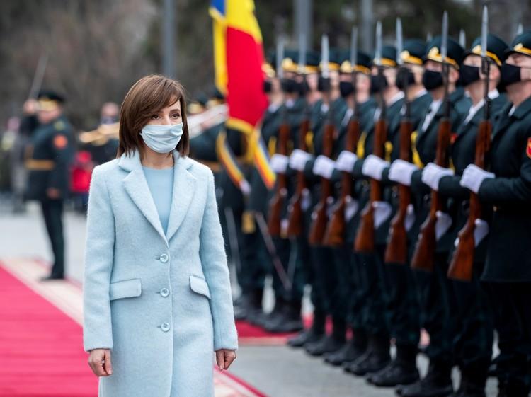 Майя Сандау заговорила о необходимости вывода российских миротворцев из Приднестровья.