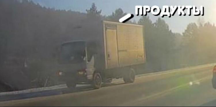 Следствие просит откликнуться водителя этого грузовика.