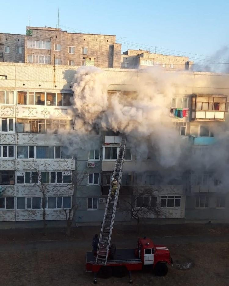 ЧП случилось на 4-ом этаже. Фото: Instagram/dpscontrol