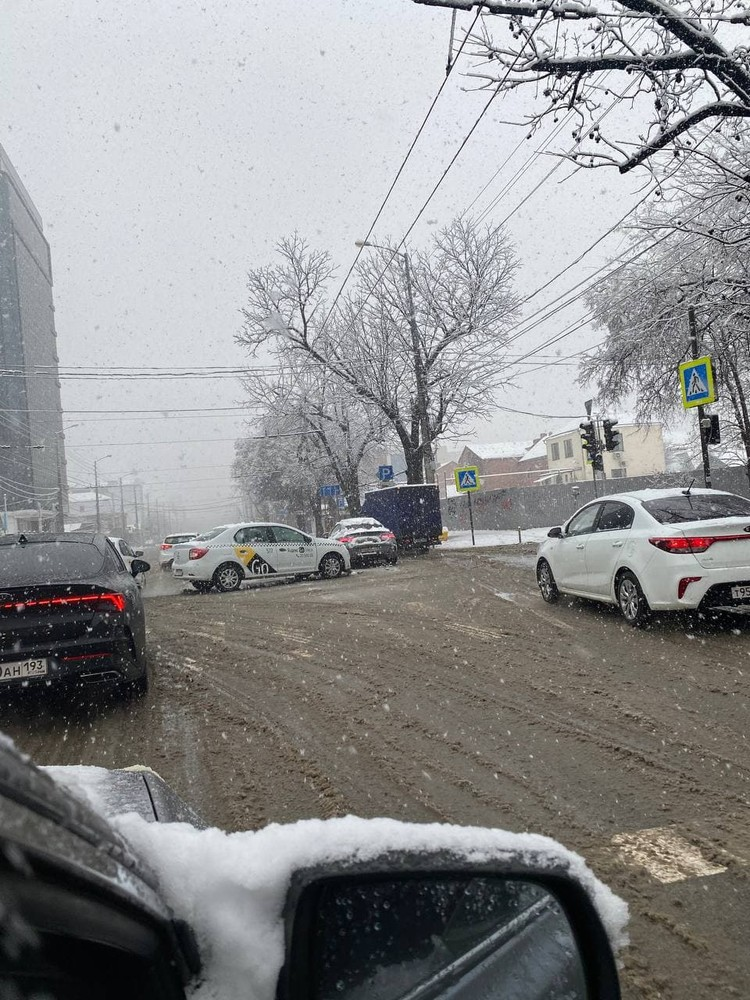 ДТП на улице Северной 10 января Фото: Дмитрий МИХЕЕВ