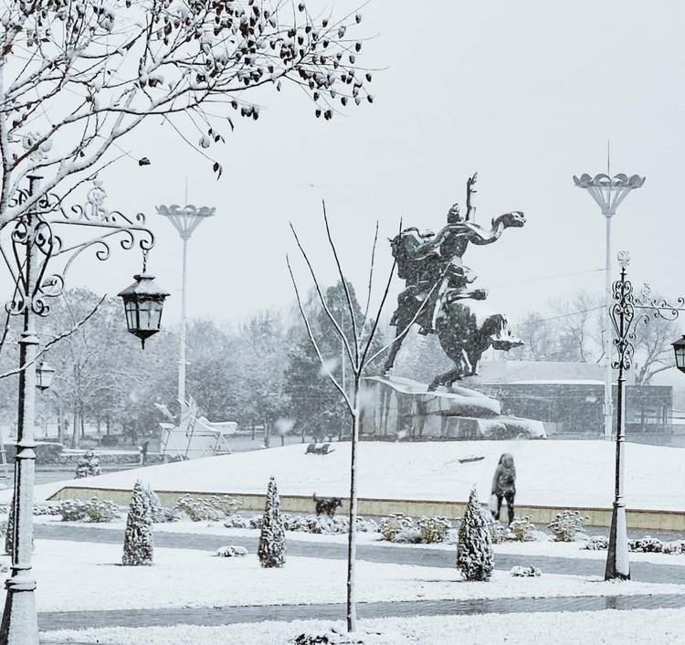 Приднестровцы говорят, что такая красота в Тирасполе впервые за два года. Фото: соцсети
