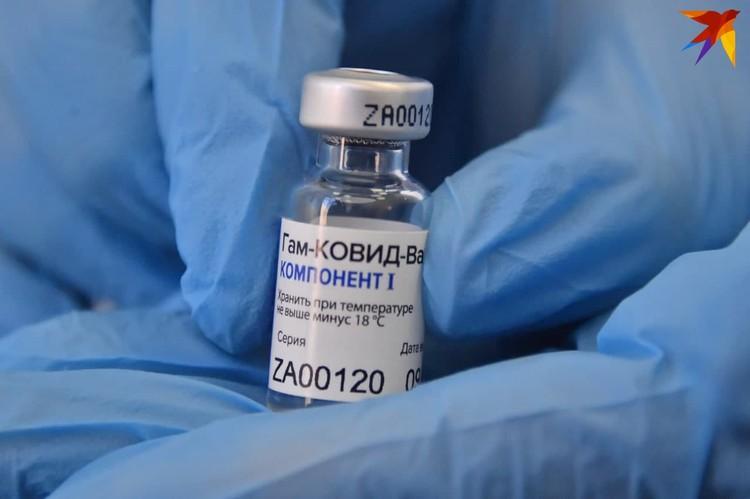 Первый укол вакцины делается за 21 день перед вторым