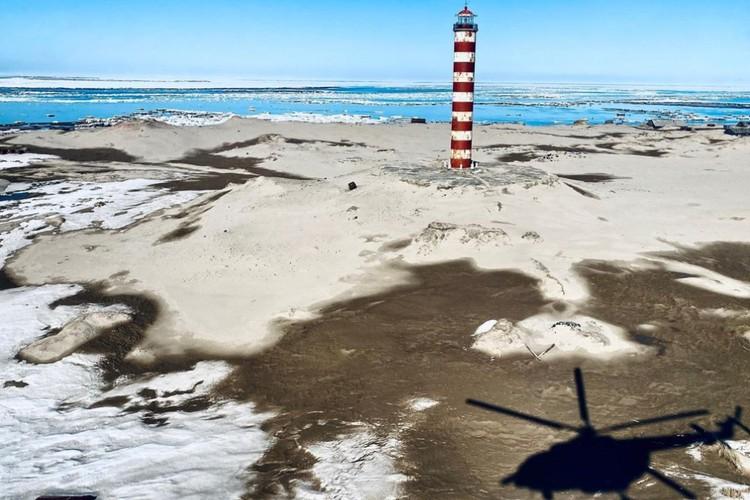 Одна из самых удаленных точек Ямала — почти на краю земли. Фото: предоставлено Златой Чевердынской