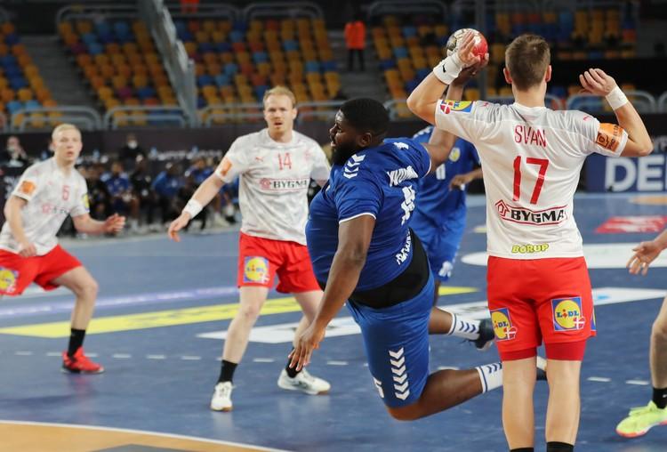 В матче против сборной Дании Готье Мвумби стал самым результативным в своей сборной.