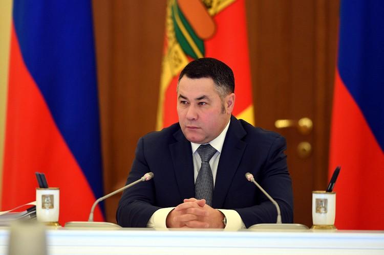 Игорь Руденя отметил, что на предприятиях региона должна перерабатываться абсолютная часть «родной» древесины. Фото: ПТО