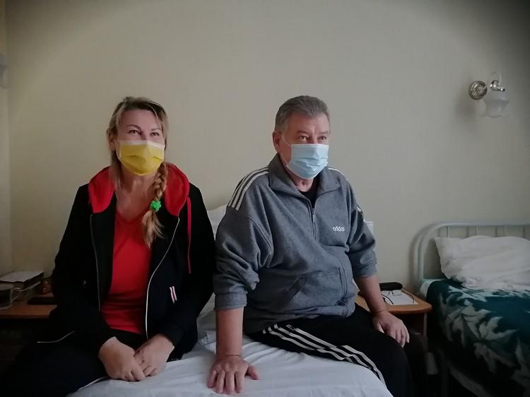 Супруги Барановы благодарны врачам, которые вернули их к жизни