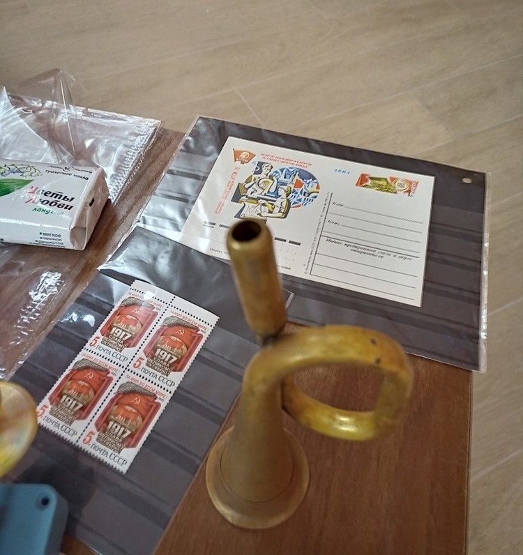 На одном из интерактивных занятий для детей рассказывали об истории почты. Фото: пресс-служба Тверского объединенного музея.