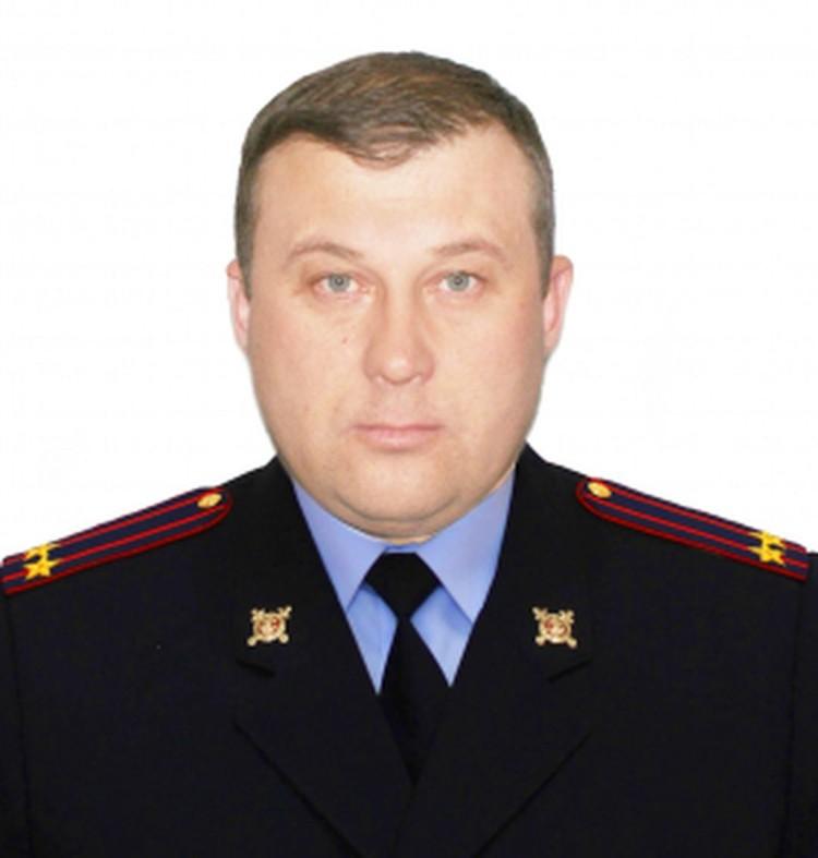Подполковник служит в органах с августа 1996 года. Фото: ГУ МВД по Новосибирской области.