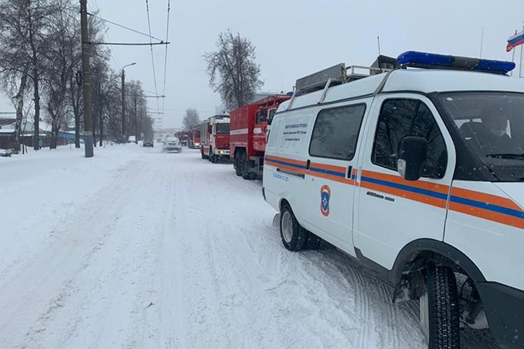 Фото: пресс-служба ГУ МЧС России по Брянской области.