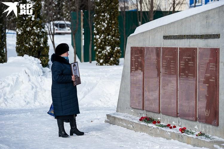 В обцентре почтили память 188 орловцев, погибших в локальных конфликтах