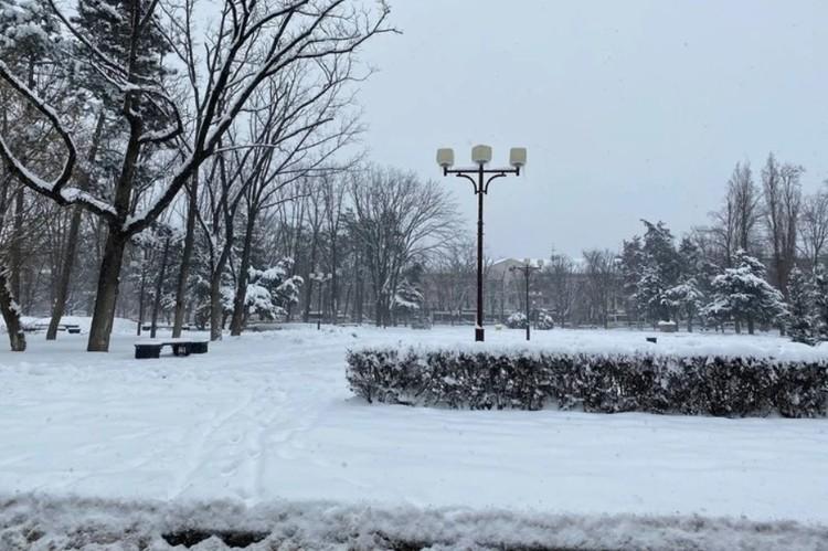 Последствия снегопада в Краснодаре 16 февраля 2021 года: стихия проверяет регион на прочность