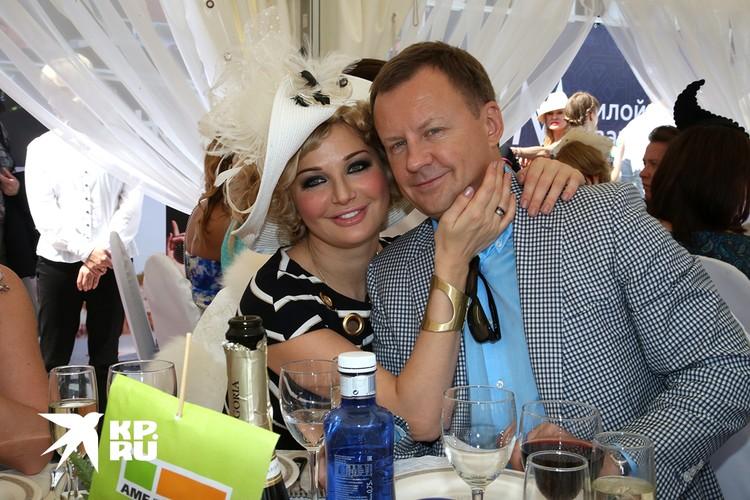 Мария Максакова с мужем Денисом Вороненковым.