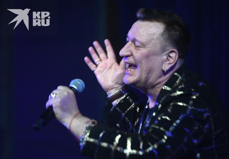 Сергей Пенкин не мог не спеть на своем юбилее.