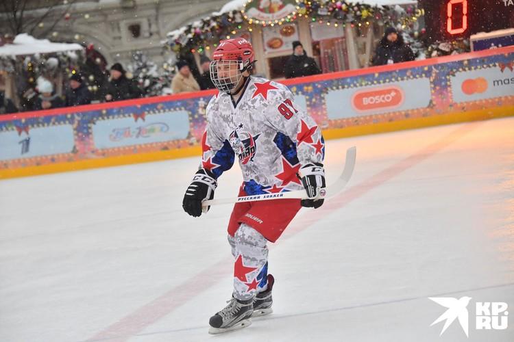 Дмитрий Сычев и в русском хоккея доказал, что он мастер.