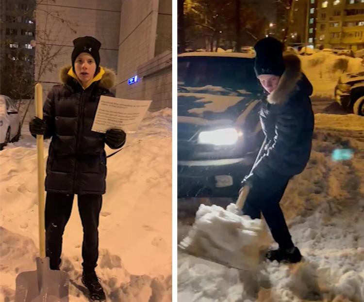 Фото: кадр с видео Екатерины Тюриной.