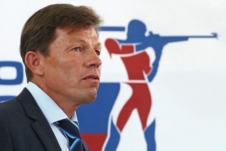 Глава Союза биатлонистов России Виктор Майгуров. Фото: Гавриил Григоров/ТАСС