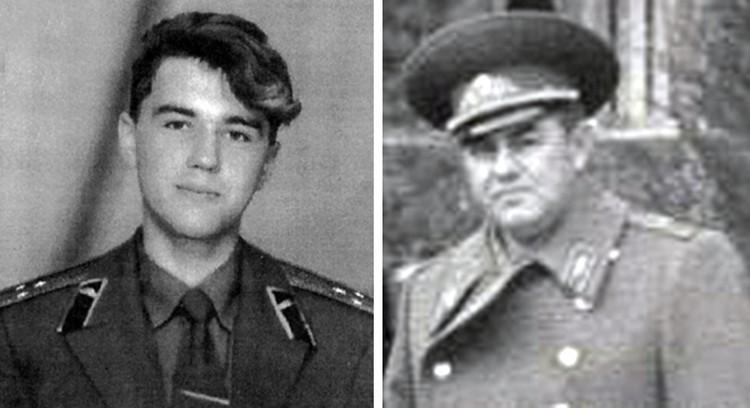 Старший лейтенант Александр Аношин, сын генерал-лейтенанта Геннадия Аношина.