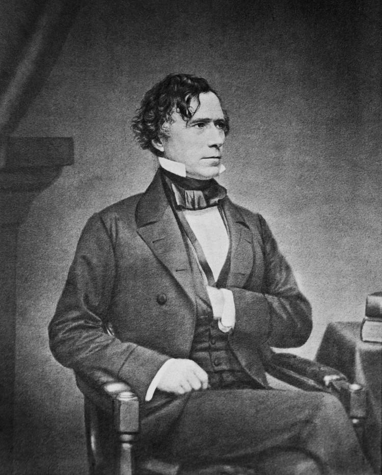 Франклин Пирс - первый президент США, родившийся в XIX веке. Фото: Библиотека Конгресса США
