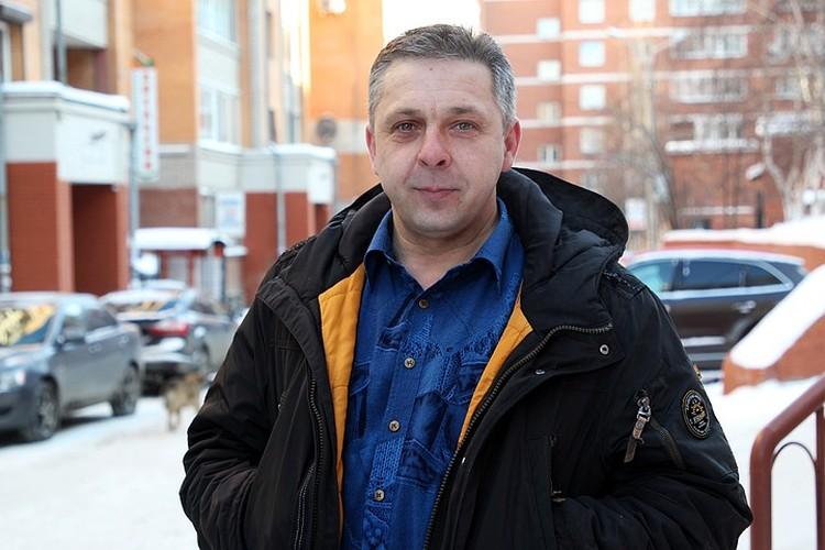 Василий Барнич догнал автоугонщика
