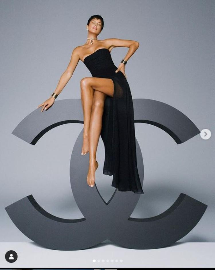 Русская красавица стала амбассадором французского бренда. Фото: Инстаграм.