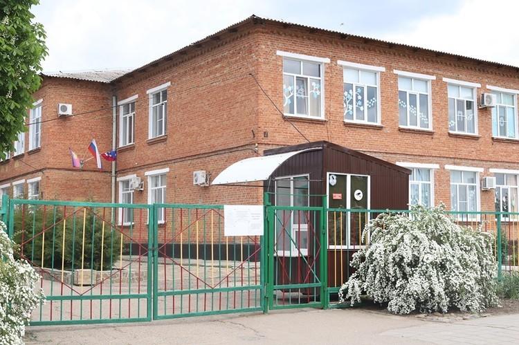 В этой школе Мария проучилась месяц
