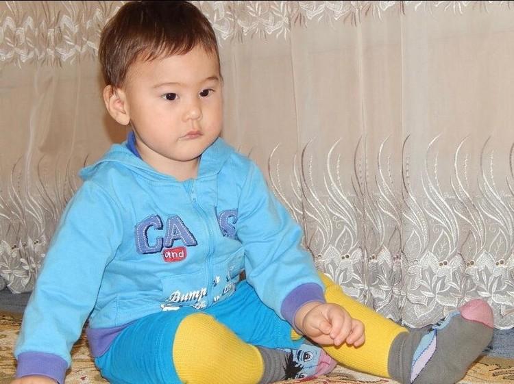 Так маленький Амир выглядел пять лет назад.