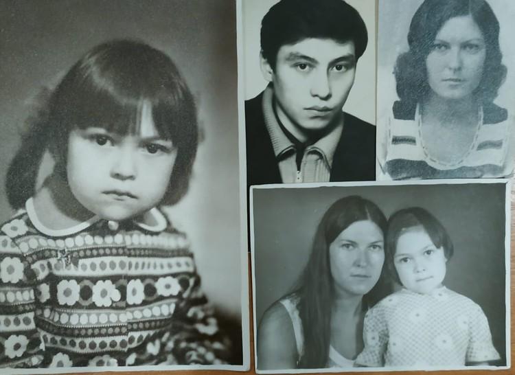Внучка Хунлиня Юля с папой и мамой. Фото: архив семьи.