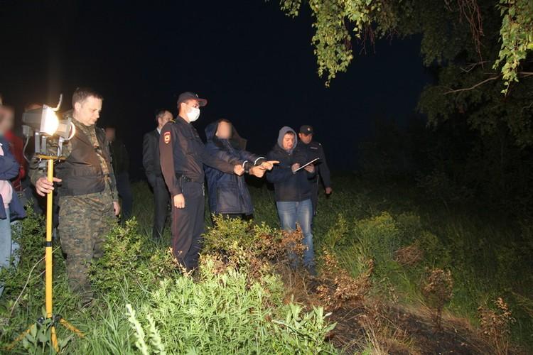 Алексей показал, где спрятал тело