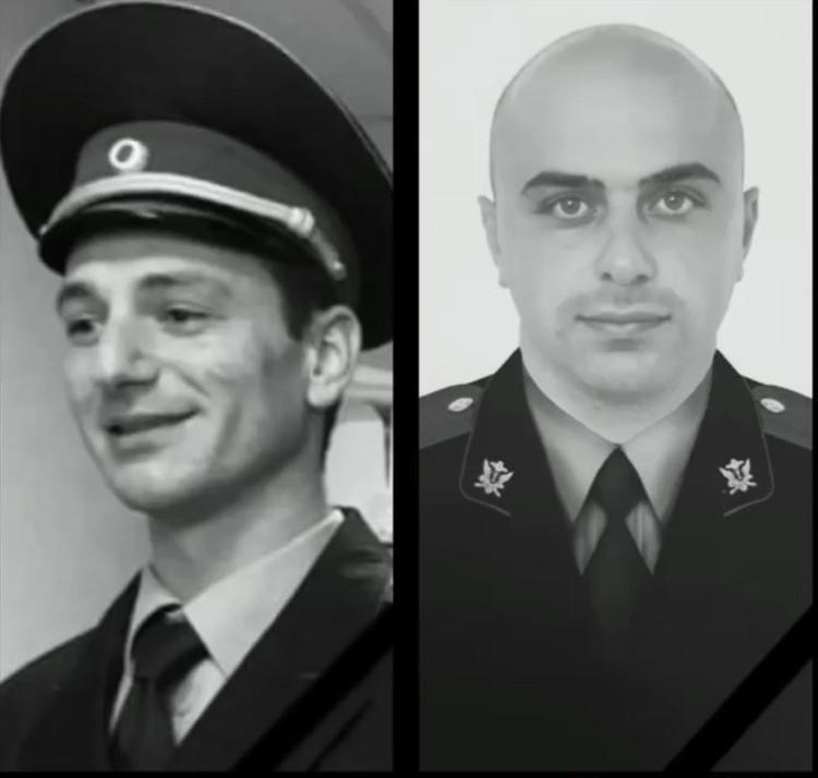 Андраник Матевосян и Альберт Агозян - приставы, которых застрелил в Адлере 61-летний мужчина
