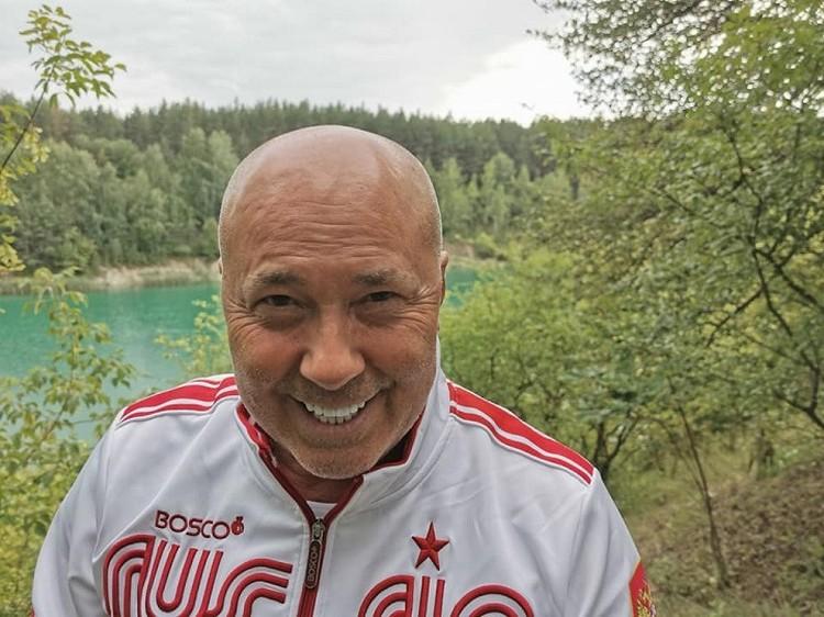 Александр Солодуха отдыхал в 2021 году в Беларуси. Фото: Facebook Александр Солодуха.