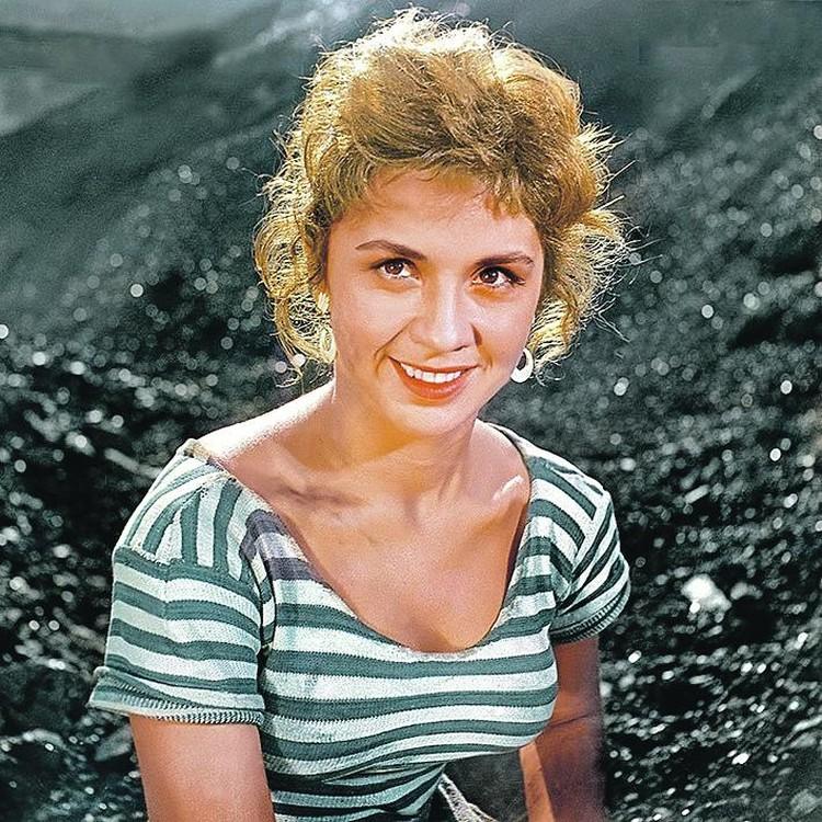 Лионелла Скирда, во время съемок «Вольный ветер» ей было 23 года. Фото: Кадр из фильма «Вольный ветер», 1961 г.