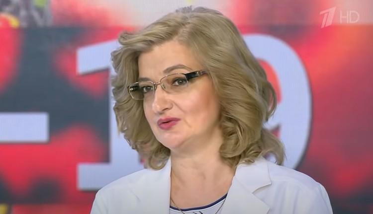 Замдиректора Центрального НИИ эпидемиологии Роспотребнадзора Наталья Пшеничная.