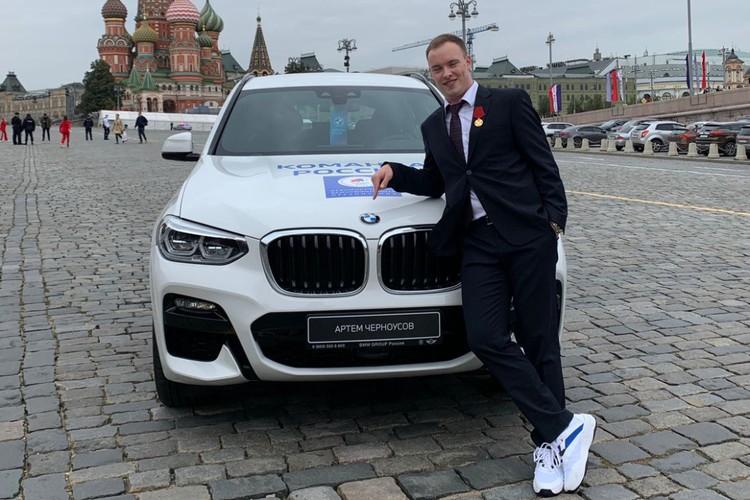 """Продавать машину Артем не собирается. Фото: предоставлено """"КП""""-Иркутск"""" Артемом Черноусовым."""