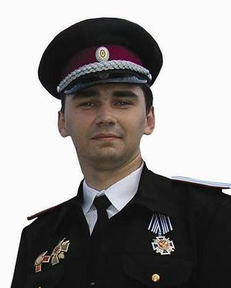 """Атаман """"Верного Казачества"""" Алексей Селиванов."""