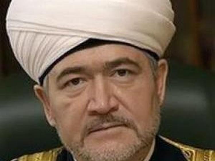 Глава совета муфтиев России Равиль Гайнутдин.