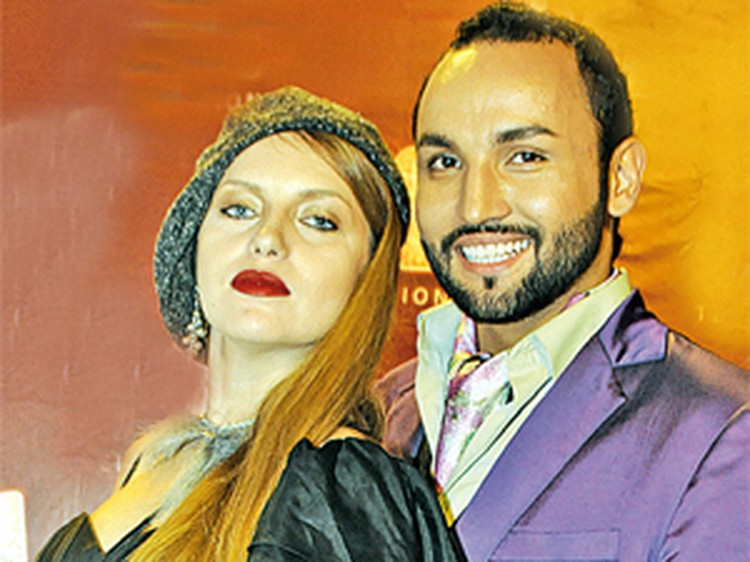 Анастасия Погудина и Сердар Камбаров