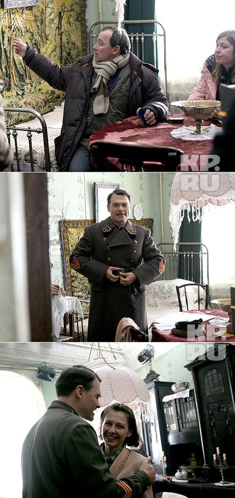 Режиисер картины Сергей Урсуляк проконтролировал каждую деталь интерьера квартиры, в которой, по сценарию, происходила встреча главных героев