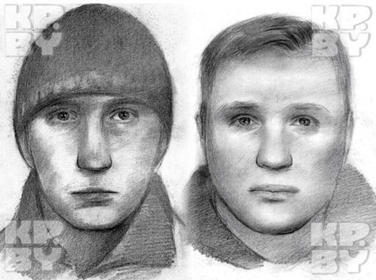 Фоторобот подозреваемых в совершении теракта в минском метро 11 апреля