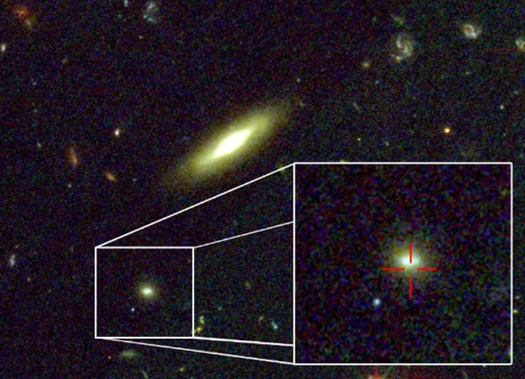 Созвездие Индейца, в котором возникла гамма-вспышка