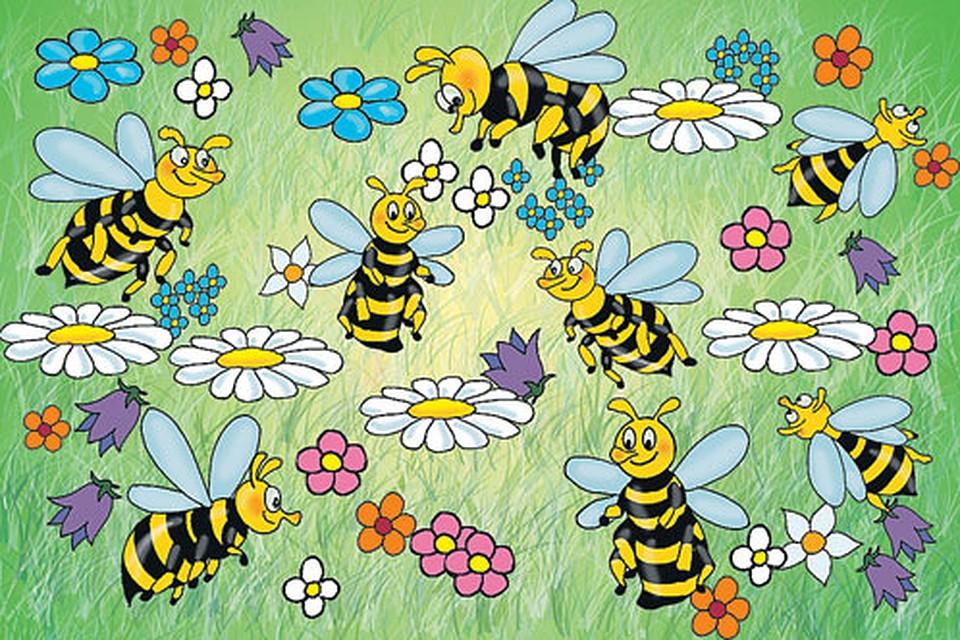 дня два, пчелки картинки для развития речи плакате рамочках