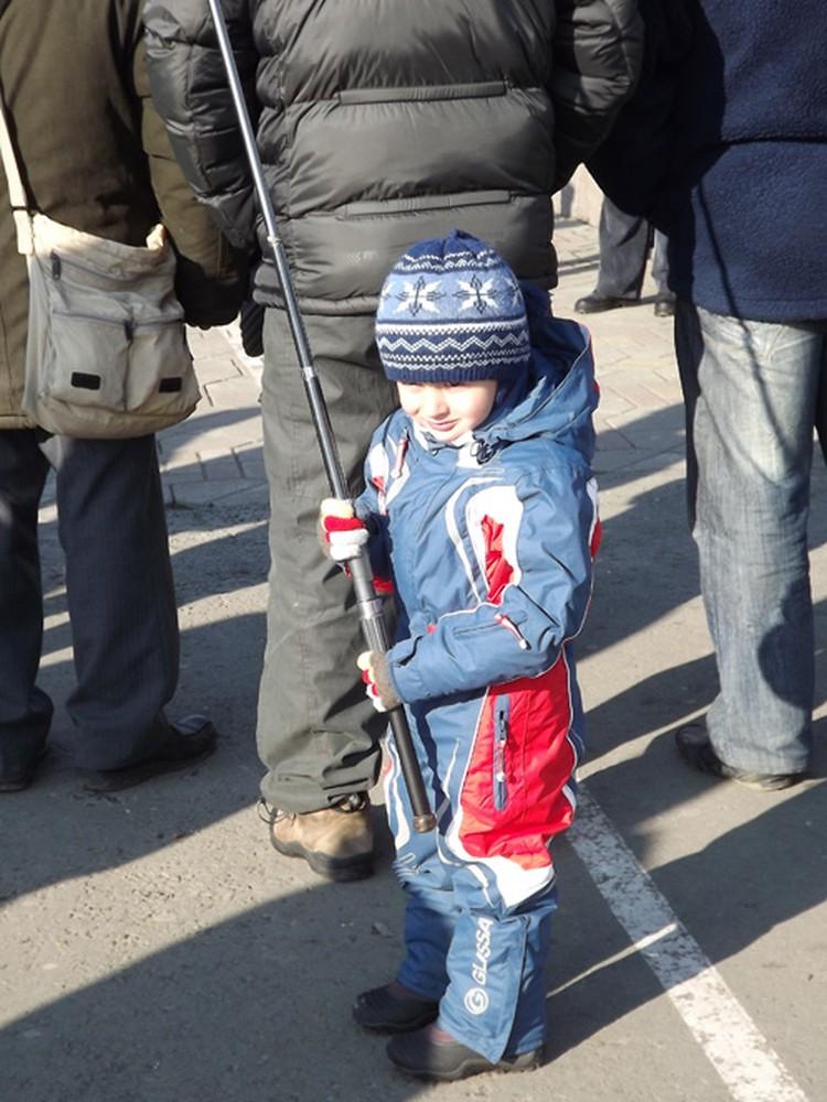 Владивостокцы пришли на площадь с детьми