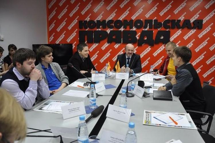 """В пресс-центре """"КП""""-Новосибирск"""" состоялась дискуссия о тенденциях Рунета."""