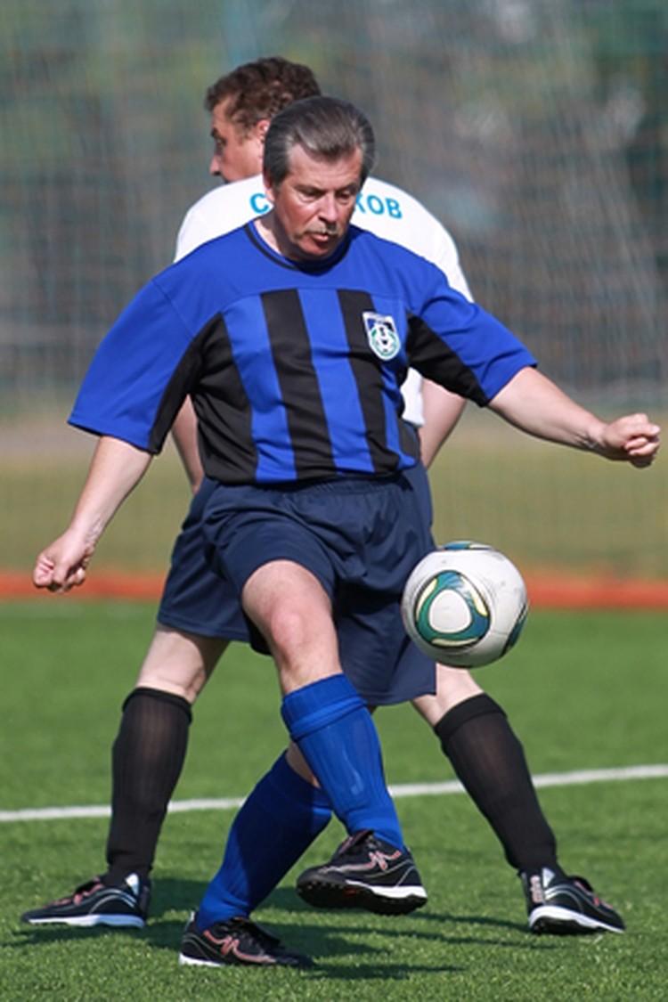 Сергей Вахруков любил поиграть в футбол.