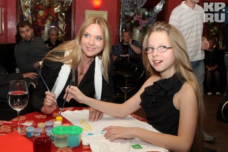 Варвара с дочкой
