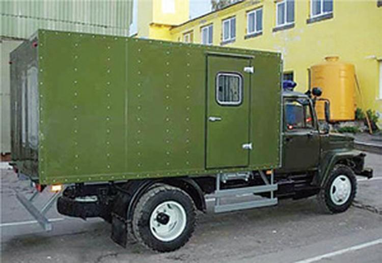 Автозак ГАЗ-3307.