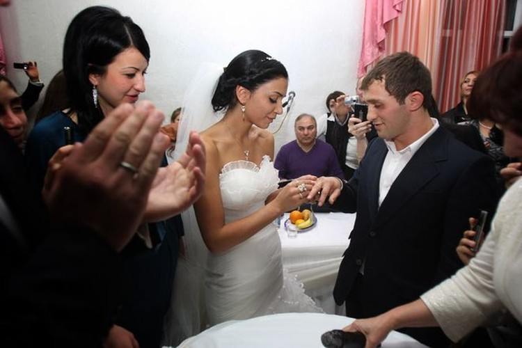 Свадьба Бесика и Кристины.