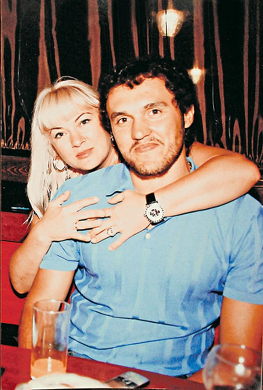 - Баландин с женой Леной.
